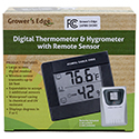 Thermometer/Hygrometer with Remote Sensor